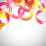Curls abstract background. Royalty Free Stock Photo