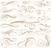 CURLS Royalty Free Stock Photos