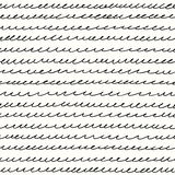 Curls line on a light background. Seamless pattern curls line on a light background Stock Image