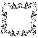 Curly artwork. Simple decorative curly artwork for background Royalty Free Stock Image