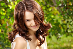 Curly beauty Royalty Free Stock Image