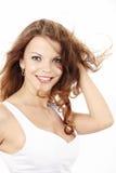 Curly beauty Royalty Free Stock Photo