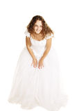 Curly bride Royalty Free Stock Photography