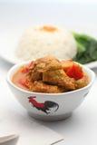 Curry chicken Stock Photos