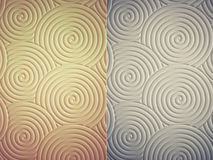 Curly circle pattern texture which can be used as background in Stock Photo
