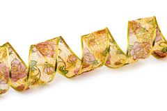 Curly decorative ribbon Royalty Free Stock Images