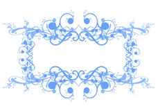 Curly frame Royalty Free Stock Image
