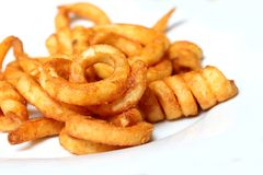 Free Curly Fries Stock Photo - 25456870