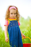 Curly girl Royalty Free Stock Images