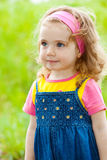 Curly girl Royalty Free Stock Photo