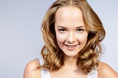 Curly girl Stock Photos
