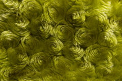 Curly green background Stock Photography