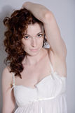 curly hair Stock Photography