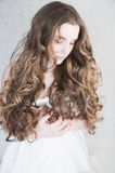 Curly hair Royalty Free Stock Photos