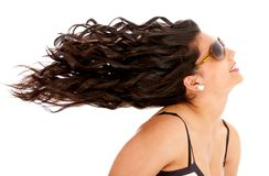 Curly hair! Stock Photo