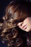 Curly hair Royalty Free Stock Photos