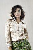 Curly Hair Women. Royalty Free Stock Photos