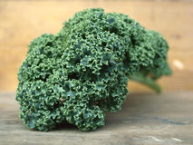 Curly kale leave Stock Photos