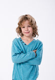 Curly  kid Royalty Free Stock Image