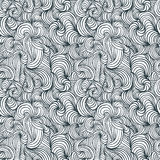 Curly lines seamless pattern. Stock Images