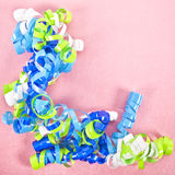 Curly Party Ribbon Stock Images