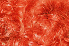Curly red hair background royalty free stock photos