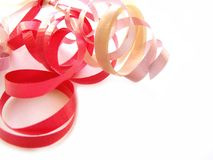 Curly ribbon Stock Photography