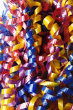 Curly Ribbon Background Stock Photo