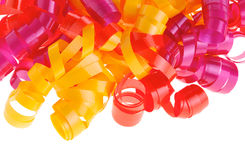 Curly ribbons Stock Image