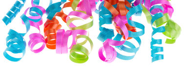 Curly ribbons Stock Photography