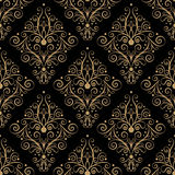 Curly seamless pattern Royalty Free Stock Images