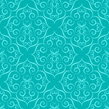 Curly seamless pattern Royalty Free Stock Image