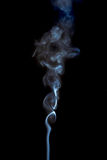Curly smoke Royalty Free Stock Photo