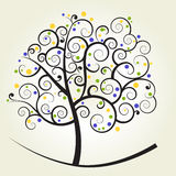Curly tree Stock Photography