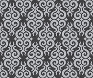 Curly tribal seamless pattern Royalty Free Stock Photography