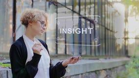 Blonde uses hologram Insight