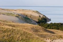 Curonian lagoon Stock Image