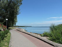 Curonian lagoon shore, Lithuania Royalty Free Stock Photos