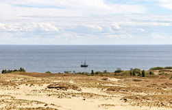 The Curonian Spit. Stock Images