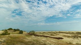 The Curonian Spit stock video footage