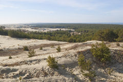 The Curonian Spit Royalty Free Stock Images
