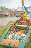 Currach at Portsoy Boat Festival Royalty Free Stock Photo