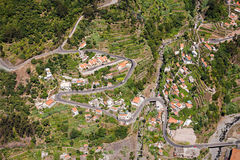 Curral das Freiras. Is a civil parish in the Portuguese archipelago of Madeira Stock Images
