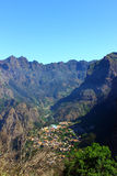 Curral das Freiras, isla de Madeira, Portugal Fotos de archivo libres de regalías