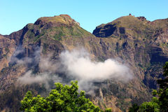 Curral das Freiras, Madeira ö, Portugal Arkivfoto