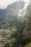 Curral das Freiras - Madeira royalty free stock photography