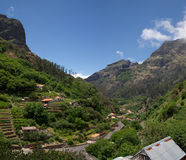 Curral das Freiras valley, Madeira Royalty Free Stock Image