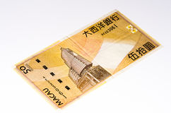 Currancy banknote of Asia Royalty Free Stock Photo