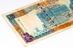 Currancy-Banknote von Asien Stockfoto