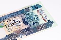 Currancybankbiljet van Oceanië royalty-vrije stock foto's
